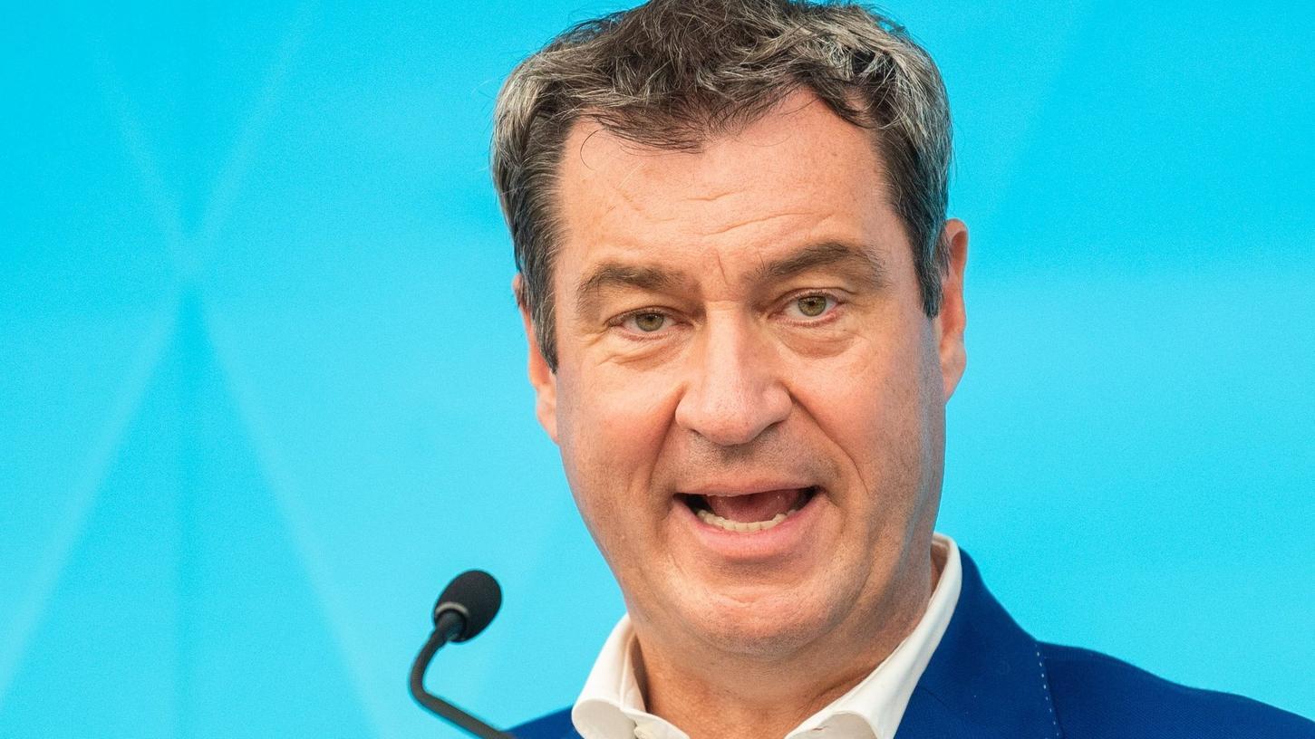 Markus Söder sieht keinen Anlass für Corona-Lockerungen. Im Gegenteil: Bayerns Ministerpräsident plädiert dafür, die