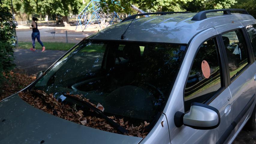 Schrottreif: Immer mehr Autos werden illegal in Nürnberg abgestellt
