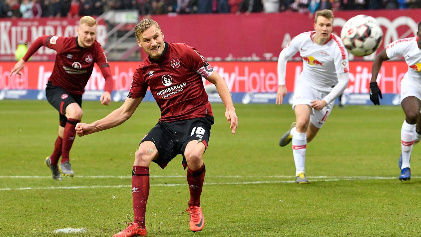 Das letzte Aufeinandertreffen zwischen dem Club und RB Leipzig war in der Rückrunde der Saison 2018/19 in der 1. Bundesliga. Damals verlor der FCN knapp mit 0:1, nachdem Hanno Behrens einen Nürnberger Strafstoß vergeben hatte.