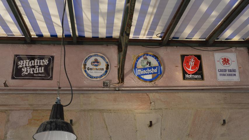 Neben dem Haustrunk von Vincenz Schiller gibt es noch andere Biersorten im Ausschank.