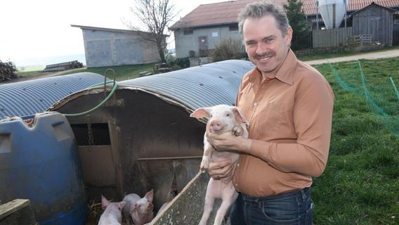 Den Bauern in Altmühlfranken vergeht die Lust an Schweinen
