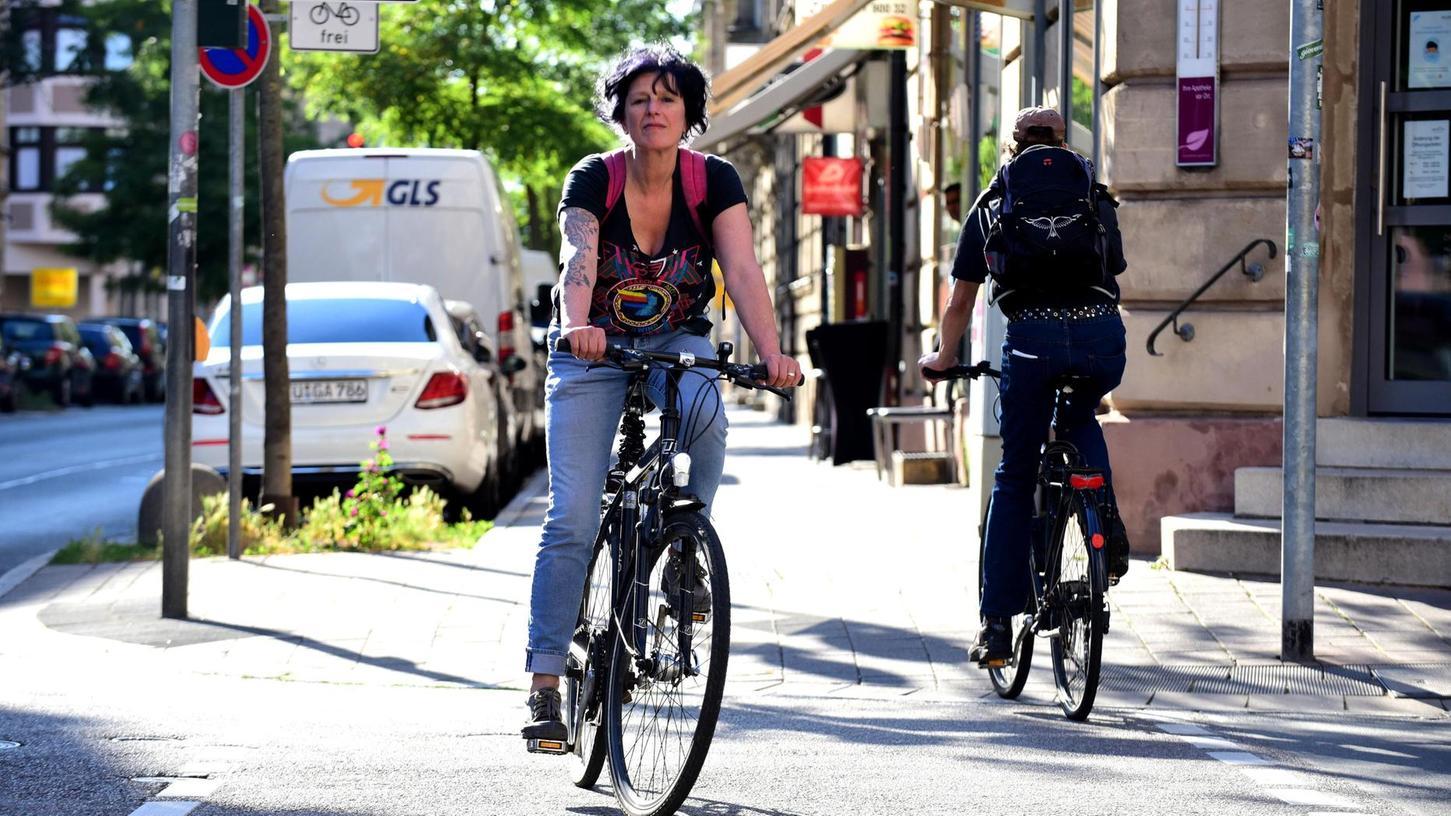 Wie fahrradfreundlich sind Fürth und die Landkreis-Gemeinden? Eine Umfrage soll darüber Aufschluss geben.