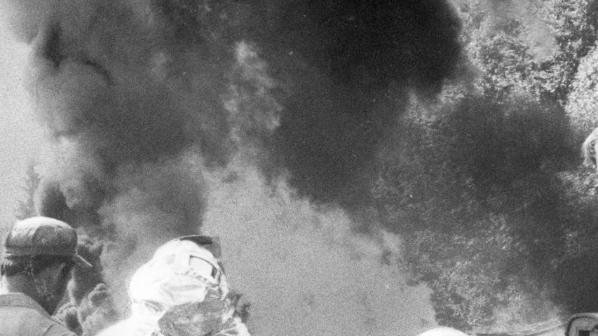 Bohrloch-Feuer wütete sechs Tage: So half Red Adair der Oberpfalz