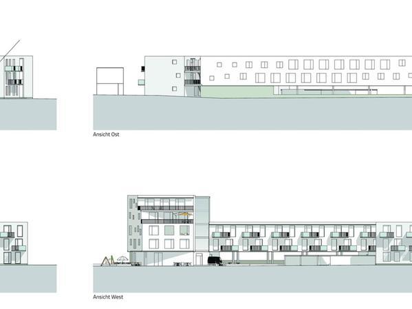In der Pleinfelder Straße in Georgensgmünd soll ein Wohn- und Geschäftshaus gebaut werden, das mal so aussehen könnte.