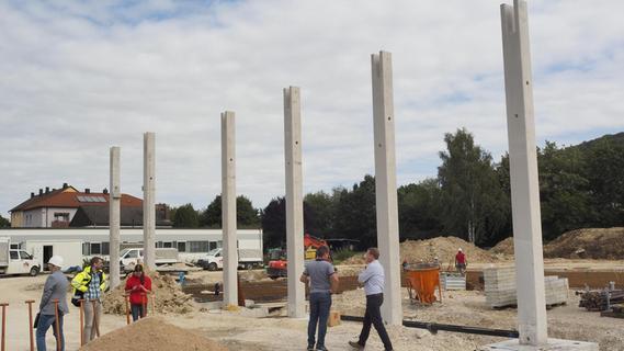 Treuchtlinger Feuerwehrhaus soll Ende 2021 fertig sein