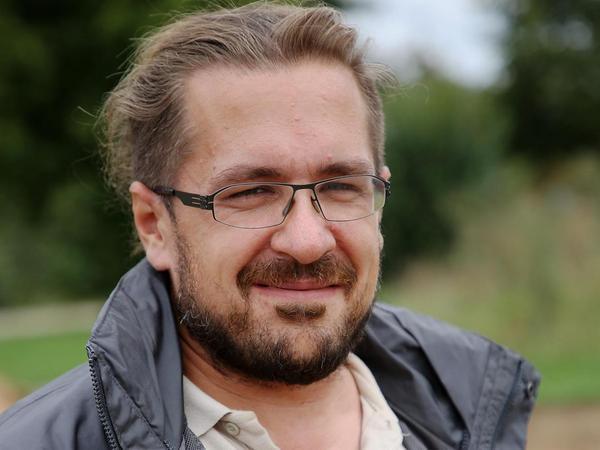 Er leitet die Grabungen: Archäologe Florian Melzer.
