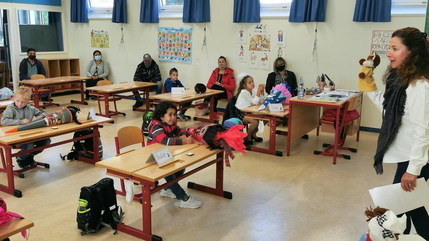 Erster Schultag Grundschule Treuchtlingen Patrick Shaw 08.09.2020