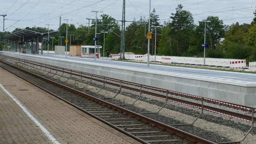 Pleinfeld: Barrierefreier Bahnhofsumbau kommt voran