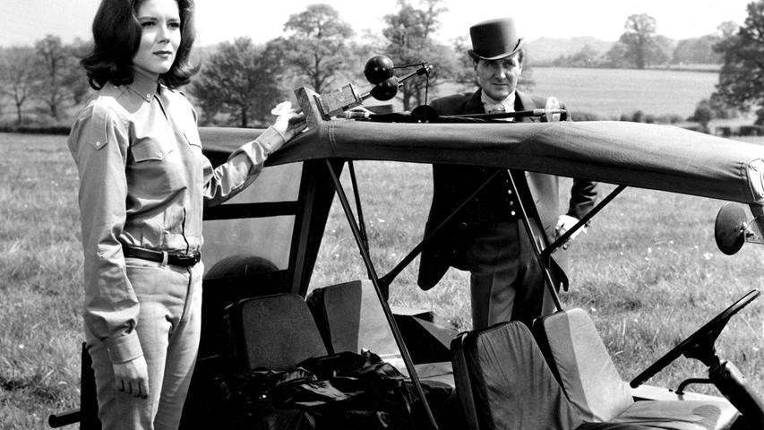 Als sexy Agentin Emma Peel wurde sie in den 60ern bekannt und feierte ein Comeback mit