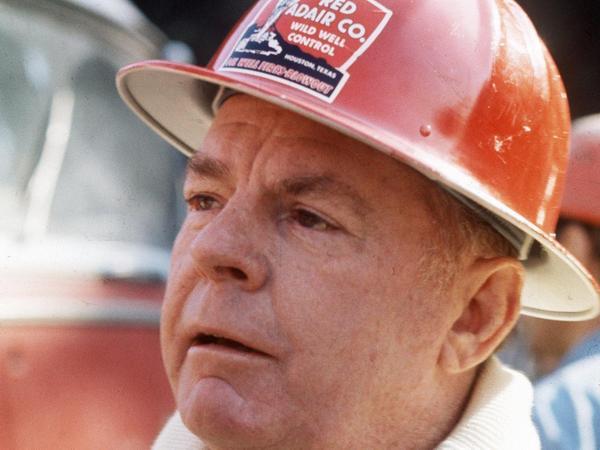 """Der texanische Brandexperte Paul """"Red"""" Adair starb im Jahr 2004."""