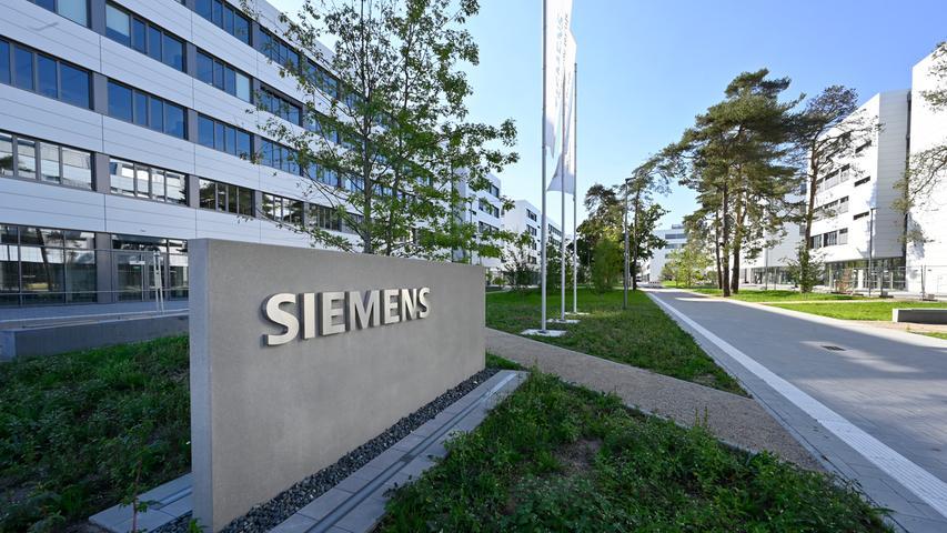 Siemens-Campus: Ein Stadtteil entsteht