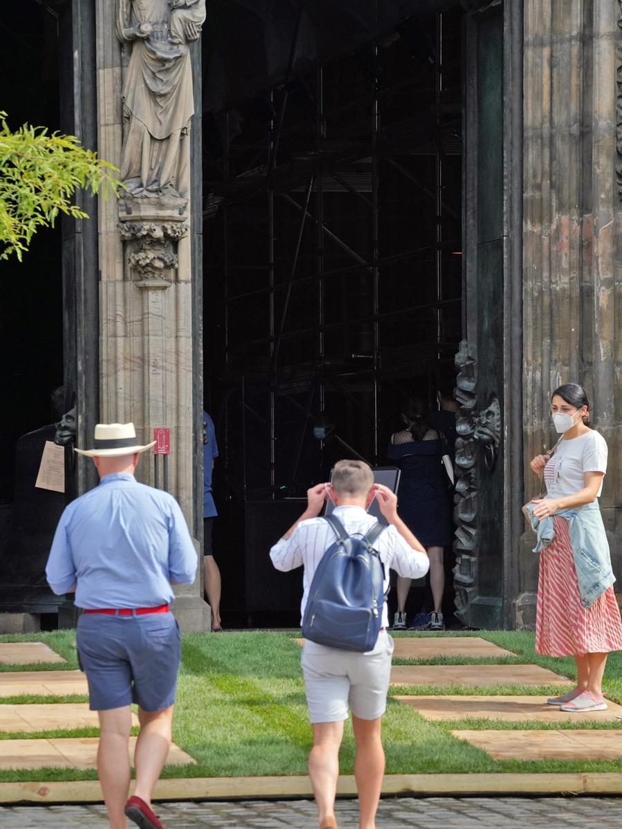 Ressort: Lokales - Nürnberg....Datum:16.09.2020....Foto: André De Geare....Lorenz GRÜN..........Grünclusiv e.V. organisiert 'Lorenz GRÜN' im Herzen von Nürnberg in der Lorenzkirche.