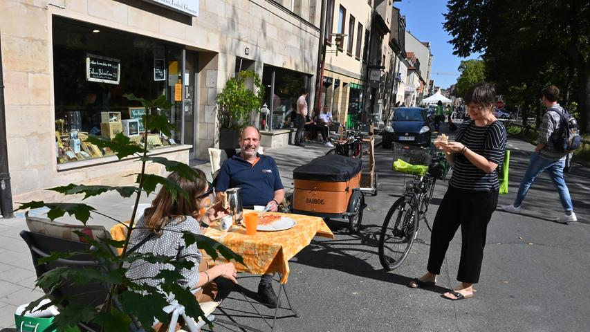 Parking Day in Erlanger Innenstadt