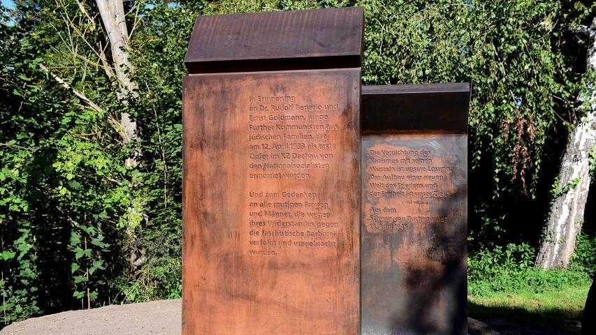 Neues Denkmal erinnert an die Fürther Nazi-Opfer Benario und Goldmann