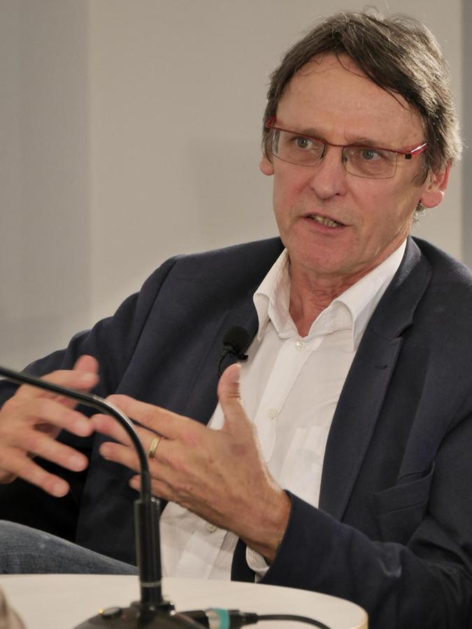 Andreas Lehmann-Wermser begleitet Mubikin von wissenschaftlicher Seite.