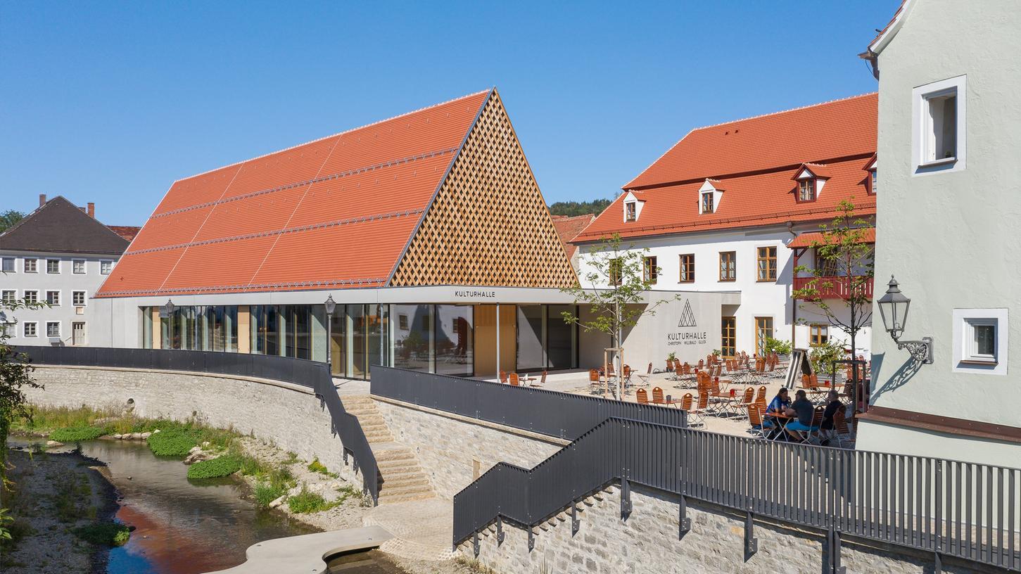 Im Oktober ist es so weit: Die neue Kulturhalle Christoph Willibald Gluck kann eröffnet werden.