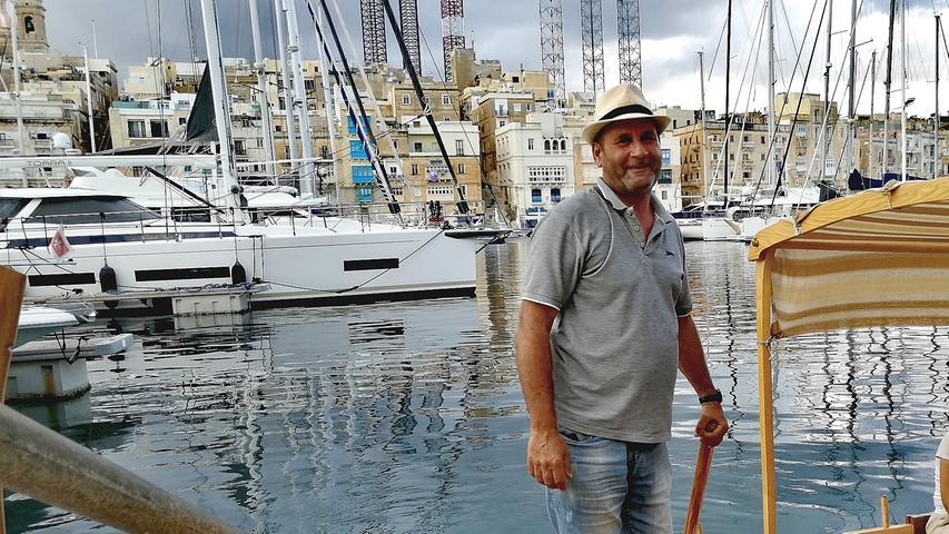 Joey Abela (56) ist in dritter Generation Dgħajsa-Fahrer (sprich: Deißa