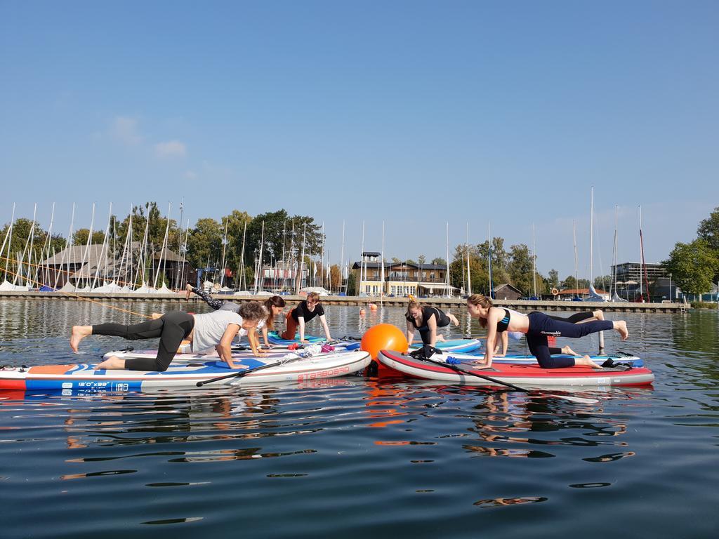 Reise Starnberger See, 20. - 22.09.2020, SUP-Yoga auf dem See.