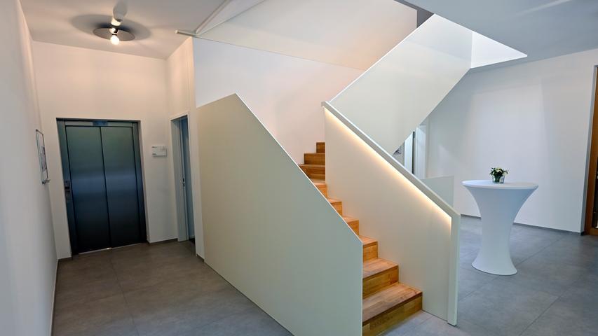 Stilvoll und wertig: Das Treppenhaus der