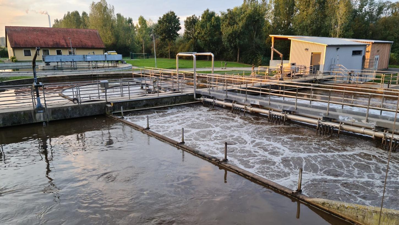 Mehr als 30 Jahre ist die Kläranlage des Abwasserzweckverbandes Eggolsheim-Hallerndorf in Betrieb.