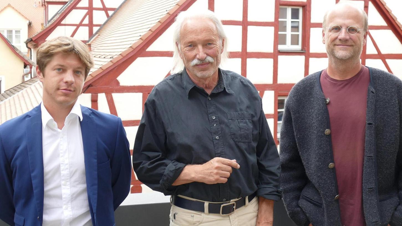 """Die Vertreter der BI """"Seenland in Bürgerhand"""": Johannes Riedl (1. Vorstand), Klaus Raab (Sprecher) und Mathias Herrmann (2. Vorstand, von links) stellen klar: Für sie kommt der Park auf keinen Fall infrage."""