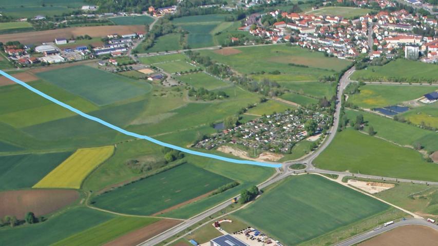 Westtangente Weißenburg: Zweiter Abschnitt bringt Entlastung