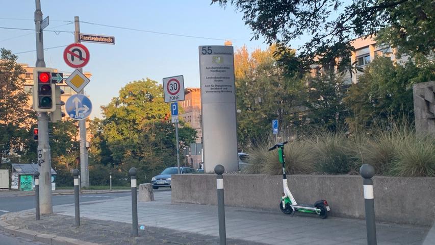 Eine beliebte Alternative für Pendler am Dienstagmorgen: Der E-Scooter.