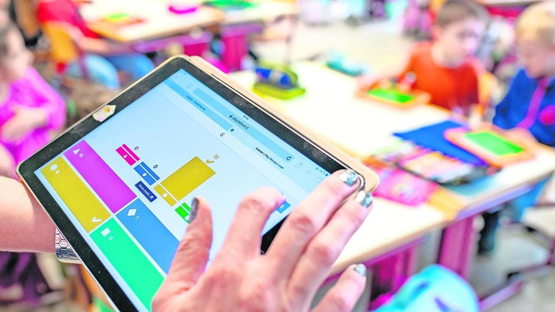 """""""Das Digitale ist sicher kein Allheilmittel"""", sagt Roger Spindler über die Zukunft der Schule. """"Es macht dabei aber vieles möglich."""""""