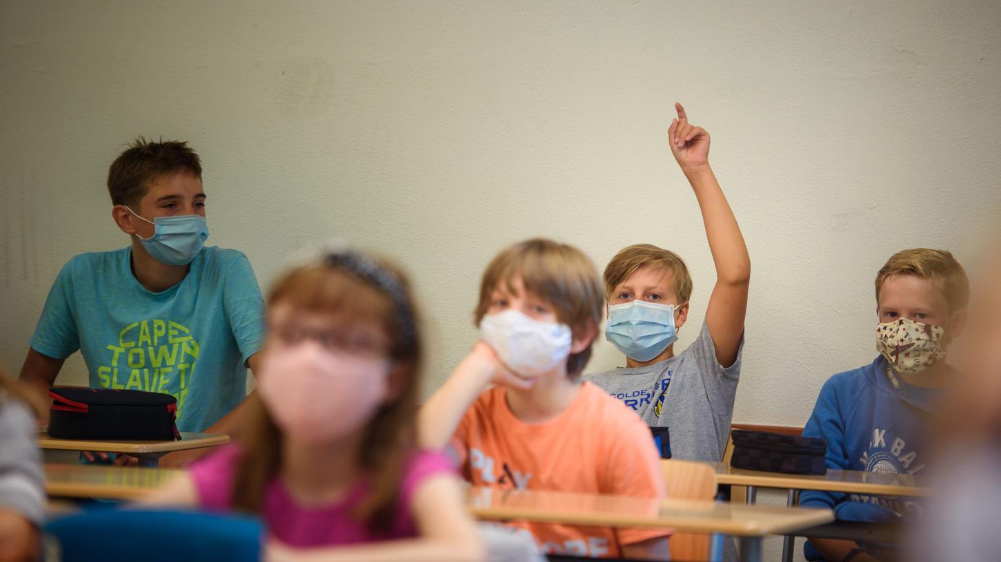 Auch Schüler demonstrieren am Samstag gegen die Maskenpflicht.