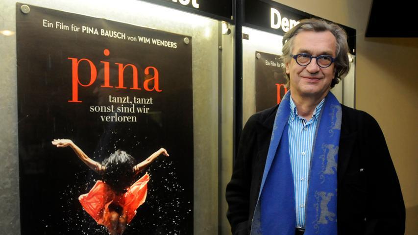 Auch der große Filmkünstler Wim Wenders kam zum Kinostart von