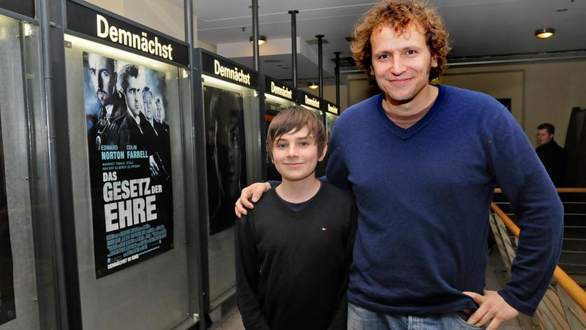 Zwei, die man einfach gern haben muss: Regisseur Marcus H. Rosenmüller und sein junger Hauptdarsteller Markus Krojer stellten 2009 gemeinsam ihren Film