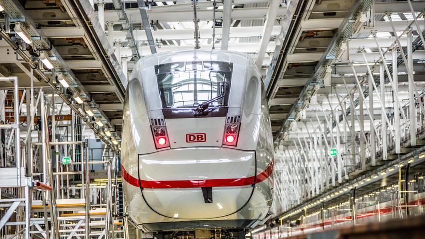 Das neue ICE-Werk soll Züge reinigen, ausbessern und reparieren. Die Deutsche Bahn hat bereits Instandhaltungswerke unter anderem in München, Hamburg, Berlin, Köln-Nippes (Foto) und Leipzig.