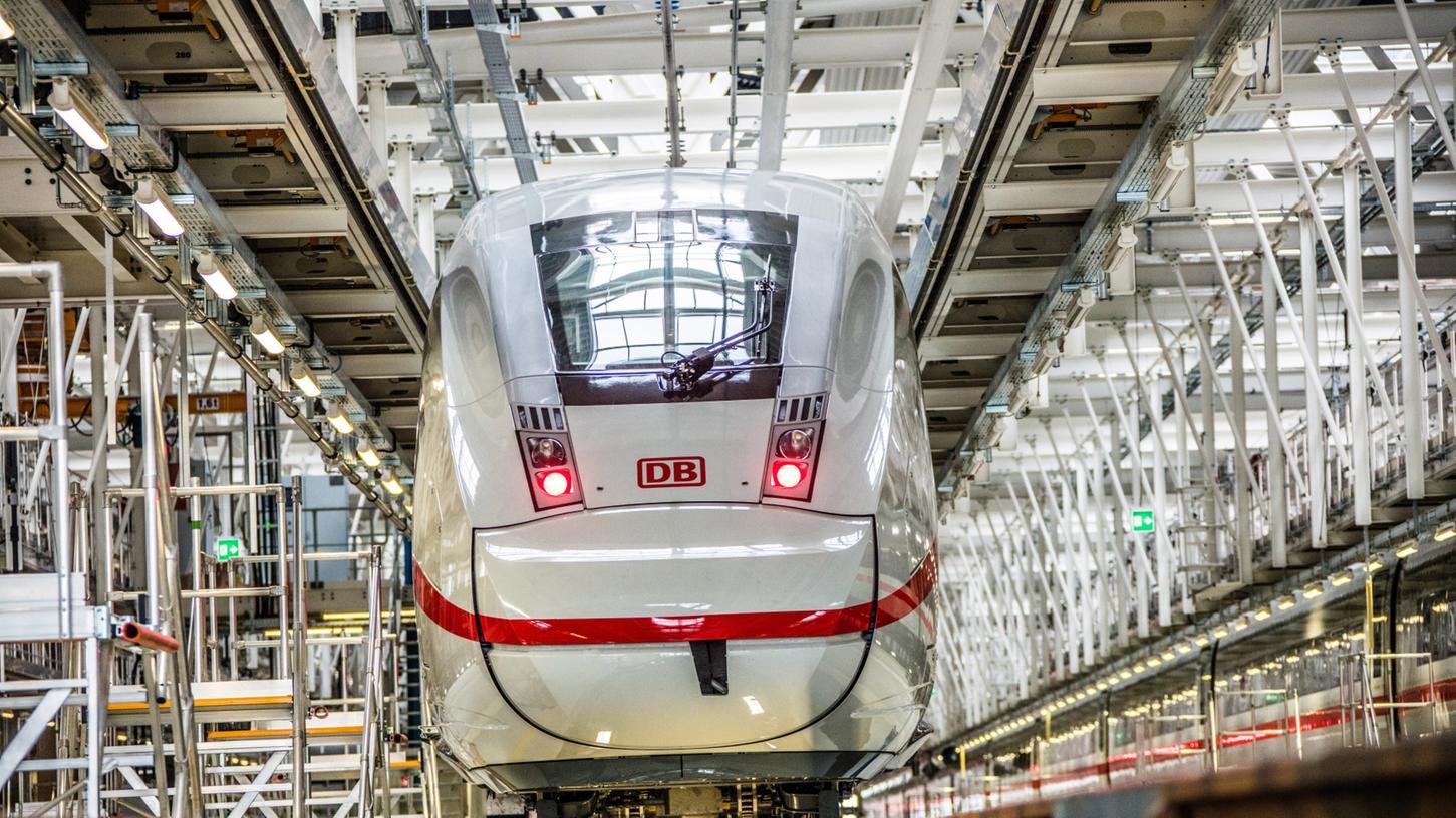 In Köln gibt es bereits ein ICE-Instandhaltungswerk. In Nürnberg soll bis 2028 ein Werk gebaut werden, gegen den ins Gespräch gebrachten Standort in Altenfurt gibt es Widerstand.