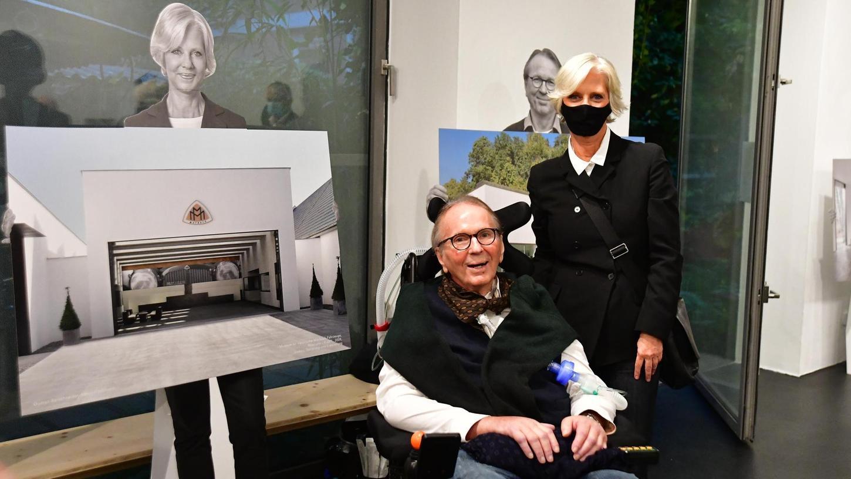 Auch ein Konterfei ihrer selbst ist in der Galerie vertreten: Gudrun Berschneider wählte das Maybach-, Johannes Berschneider das Museum Lothar Fischer.