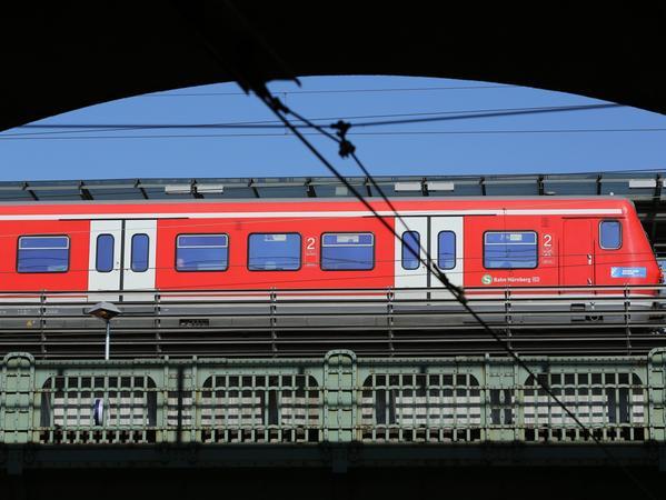 Die Pünktlichkeit der Nürnberger S-Bahn betrug im vergangenen Jahr 96,7 Prozent.