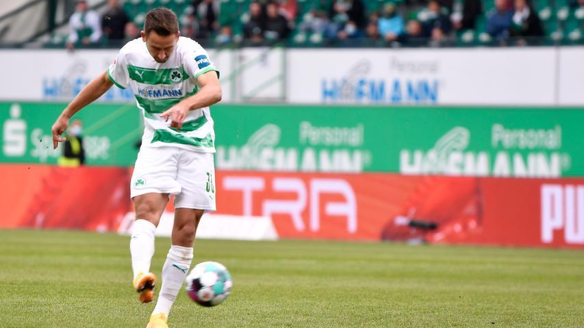 Lattenkracher und Leistner-Rot: Fürth verliert hitziges Duell mit dem HSV