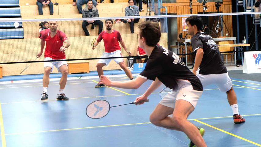 Mehr als ein Federstreich: Regionalliga-Derby im Badminton