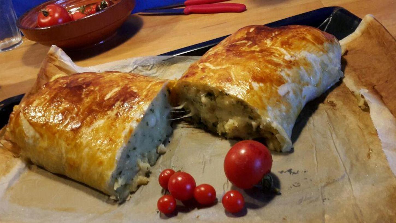 Ein Strudel der besonderen Art: Die Verbindung von Kartoffeln und Käse, eingehüllt in einen knusprigen Teig, ist ein echter Genuss, sagt unsere Kulinarik-Autorin Sylvia Hubele.