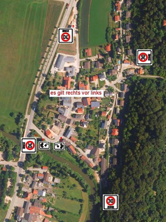 """Innerhalb der vier """"Zone 30""""-Schilder gilt in Dietfurt künftig"""