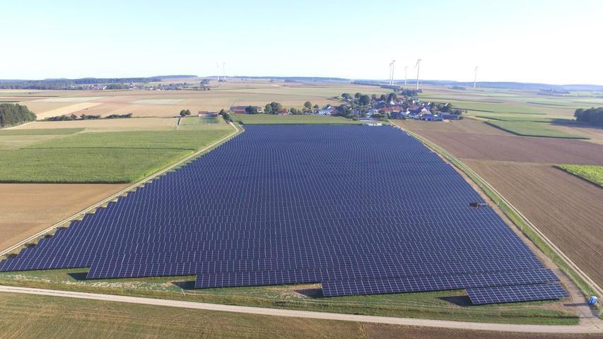 Sonnenstrom aus Berching: Anlage fertiggestellt - Weitere in Planung