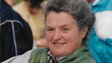 Irma Rottner auf einem Foto aus den 90er Jahren.