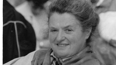 Irma Rottner kochte im Großreuther Gasthaus und modernisierte den Familienbetrieb mit ihrem Mann Konrad.
