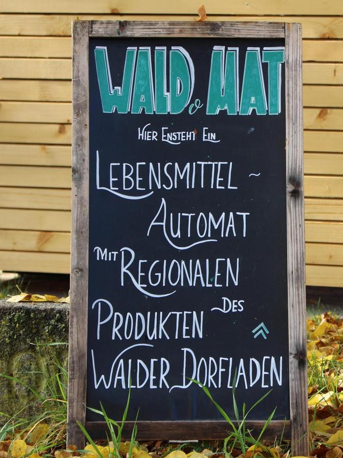 Von Gunzenhausen kommend weist dieses Schild den Weg.