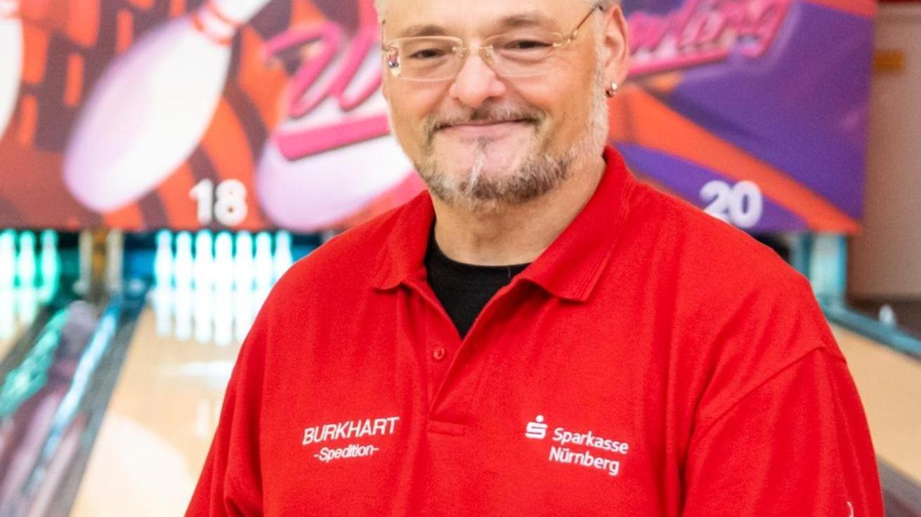 John Mesch ist Sportwart der Bowler des BSV Stein.