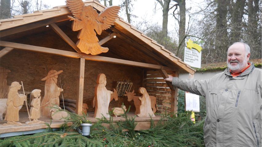 Gutzberg ist ein kleiner, idyllisch gelegener Steiner Ortsteil. Anziehungspunkt ist er insbesondere in der Weihnachtszeit, dann bummeln Spaziergänger auf dem Krippenweg.