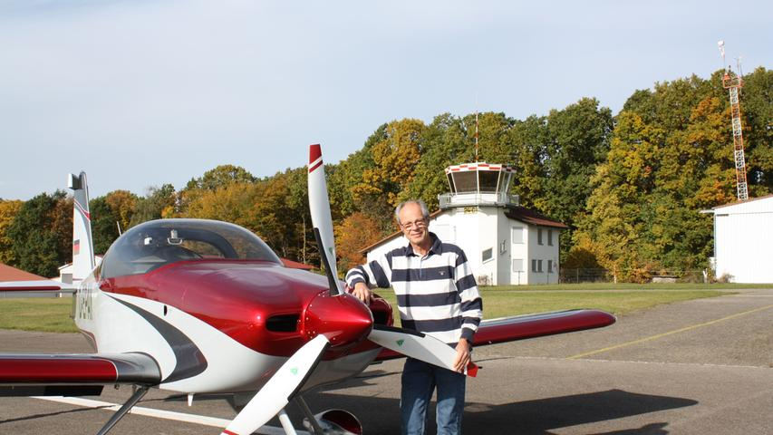 Bereit zum Abheben: Die RV-7RS ist fertig, der erste Flug erfolgreich überstanden. Nun freut sich Rainer Stark über die grenzenlose Freiheit, die ihm die einmotorige Maschine gewährt.