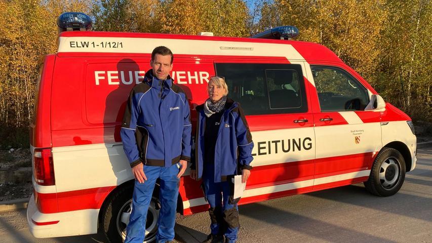 Tobias Oelsner (links) und Bettina Jurga sind dafür zuständig.
