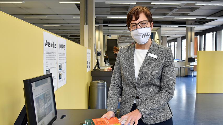 Konstanze Söllner, Leitende Bibliotheksdirektorin: