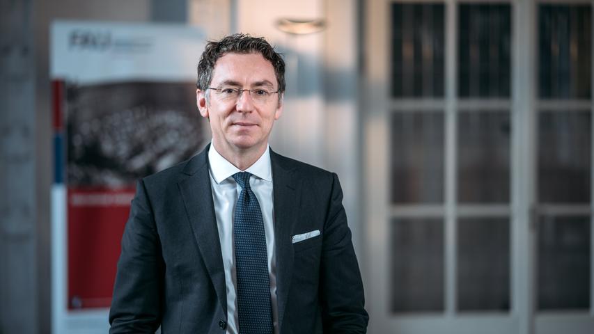 Prof. Dr. Christoph Safferling (Fachbereich Rechtswissenschaften):