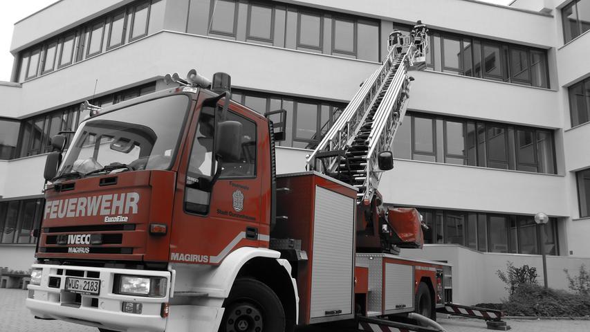 FOTO: Andreas Seegmüller; 30.10.2020; AB MOTIV: Symbolbilder Freiwillige Feuerwehr Gunzenhausen Lehrgang Drehleiter